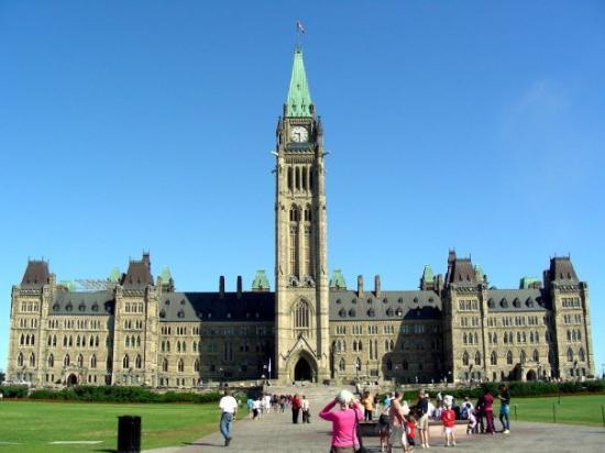 Foto de colina del parlamento ottawa parliament building for Foto del parlamento