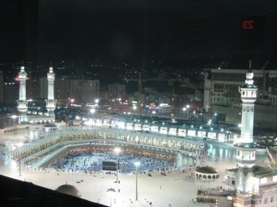 the masjid al haram makkah showing the kabah inside this was taken