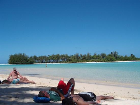 Rarotonga, Îles Cook : Muri Beach