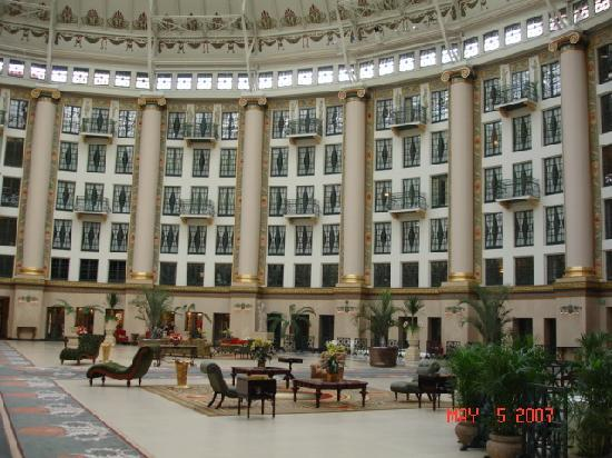 French Lick Springs Hotel: Inside West Baden