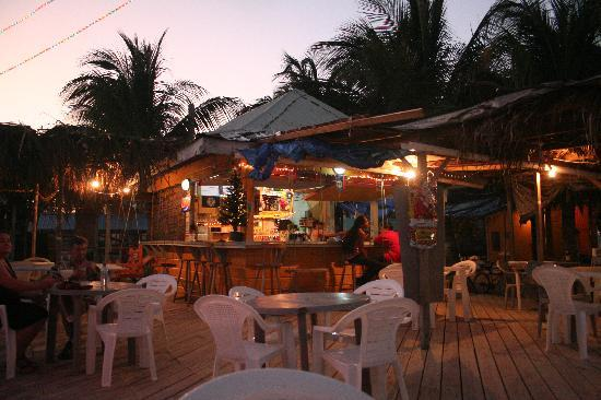 Femi's Cafe & Lounge: Sunset at Femi's