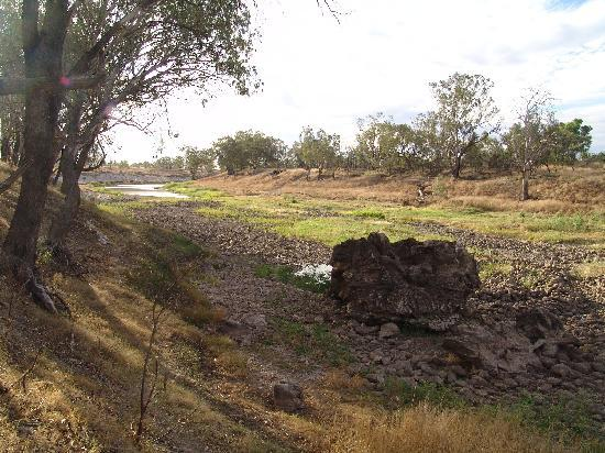 The devasting effects of farming, the Barwon River at Brewarrina