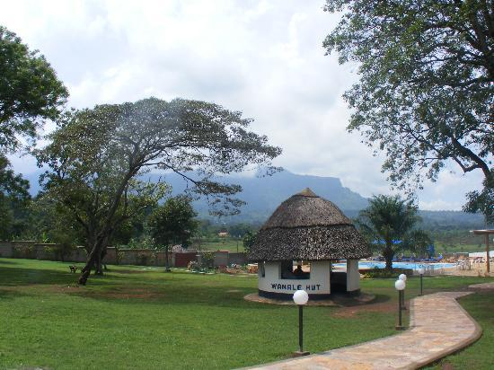 Mount Elgon Hotel: View from back
