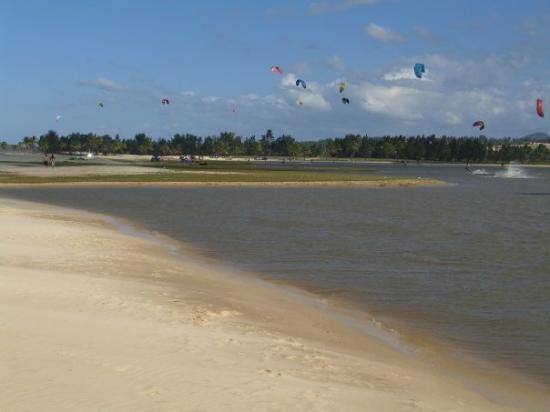 Kitesurf @ lagoa  (Cumbuco)