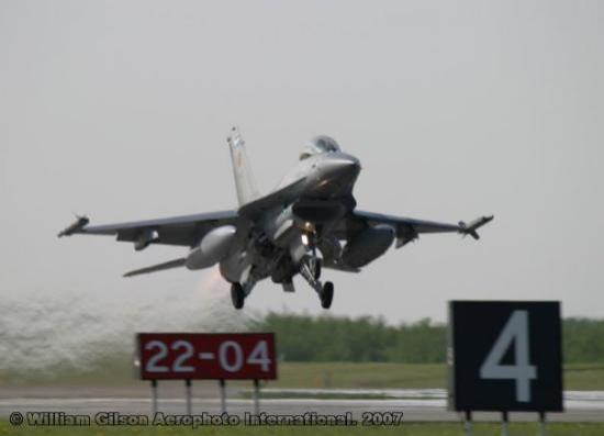 Belgian F-16 Take-Off from Cold Lake AB, Canada - Picture of Cold