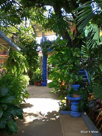 Hotel Los Cisneros: Courtyard at hotel