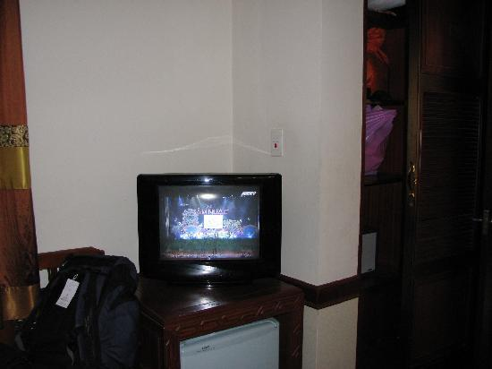 Prince II Hotel: television in our room