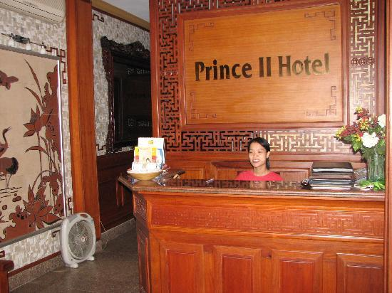Prince II Hotel: reception
