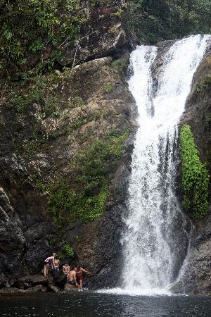 Martz Farm Treehouses and Cabanas Ltd.: Horseback ride and hike to the waterfall