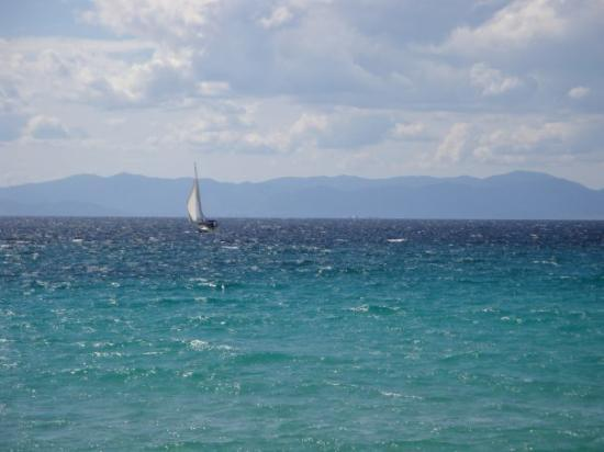 Cagliari, إيطاليا: Che mare!