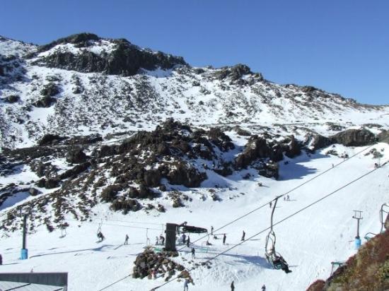 Whakapapa, Nieuw-Zeeland: Mt. Ruapehu