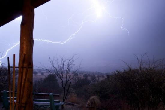 San Lorenzo, NM: Electrical storm comes up the valley so I thought I would give a try at lightning photography, g