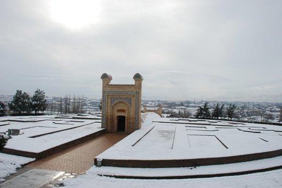 Observatoire astronomique d'Oulough Bek : 17 December 2009.Samarkand, Uzbekistan.Ulugh Beg's observatory.