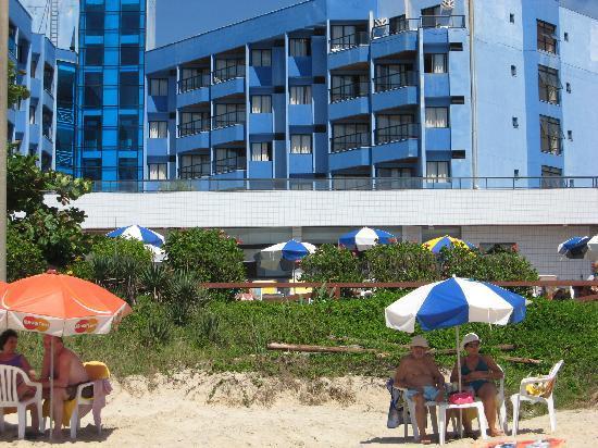 Ingleses Praia Hotel: Playa