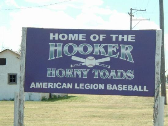 Yes, Home of the Hooker Horny Toads