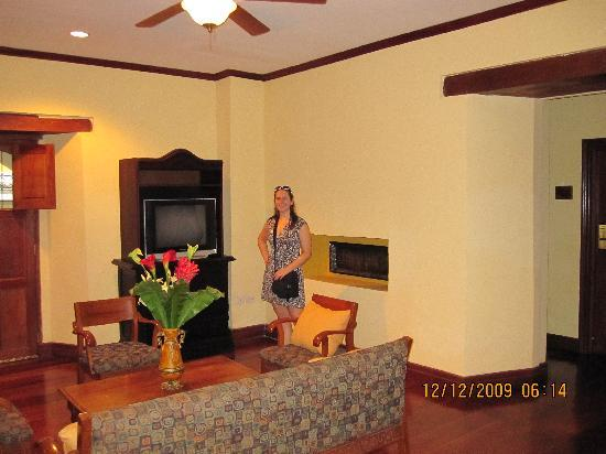 Hotel Plaza Colon : Sitting room area