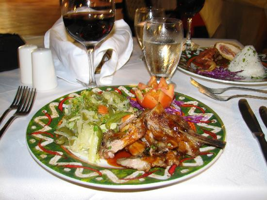 Hesperia Playa El Agua: Dinner
