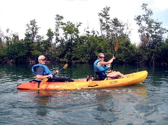 North Miami Beach, FL: Kayaking at Oleta