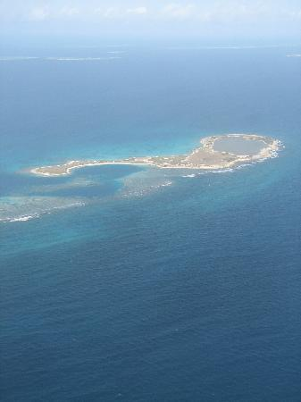 Los Roques National Park, Venezuela: View from the plane