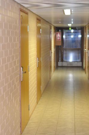 Hotelli Aakenus: Hallway
