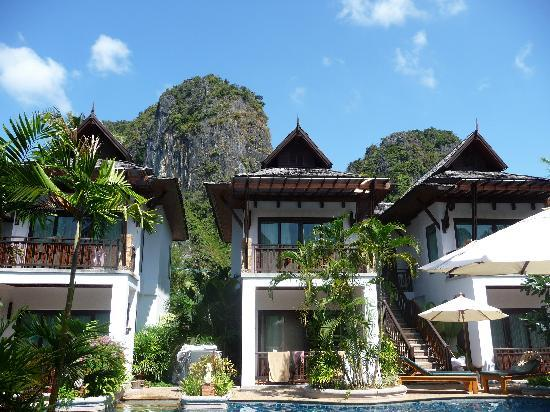 Railay Village Resort: the pool villas