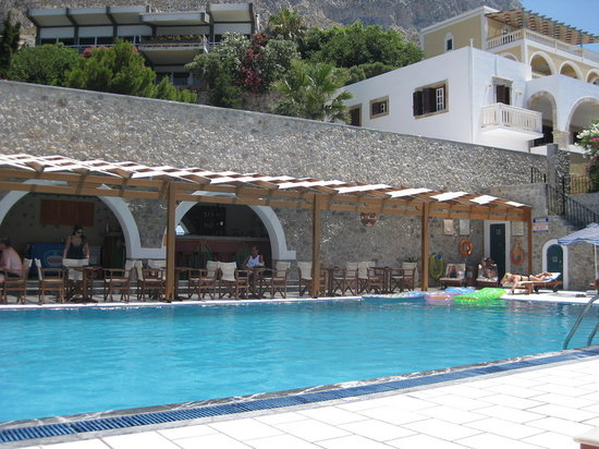 Massouri, Greece: Pool area