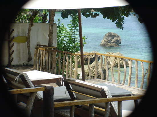 Rock 'n Reef Uluwatu: the terrace