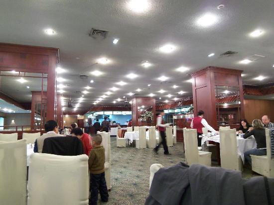 Green Land Jiulong Hotel , Shanghai: 朝食会場