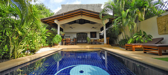 Spa Samui's Beach Resort : The Spa Samui Resorts 1 or 2 bedroom Villas