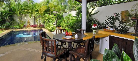 Spa Samui's Beach Resort : ... totally private Island style