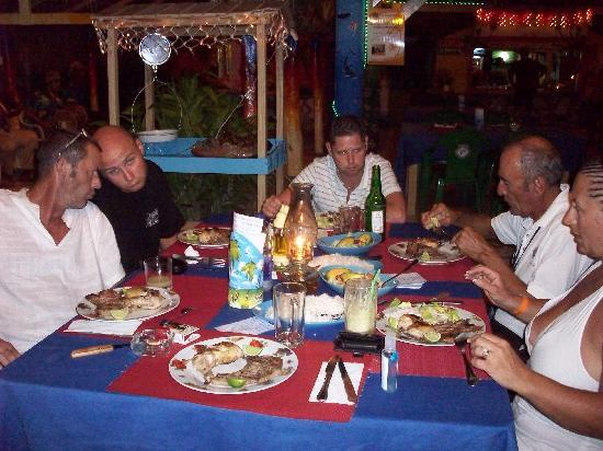 Ristorante Issamar: notre table