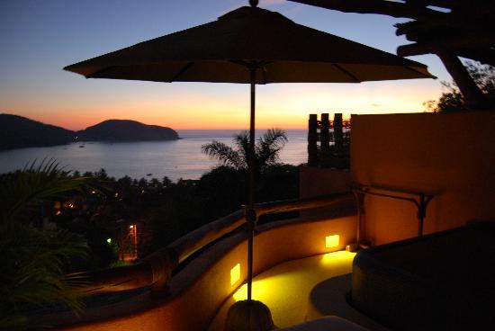 Hotel Cinco Sentidos: balcony