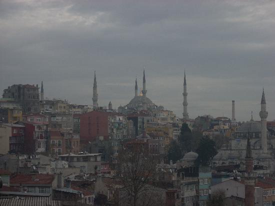 Ottoman Hotel Park : View from Breakfast/ Bar / Restaurant terrace