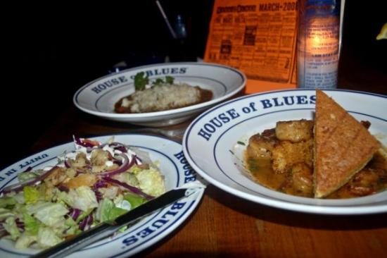 House of Blues Restaurant & Bar New Orleans: voodoo shrimp