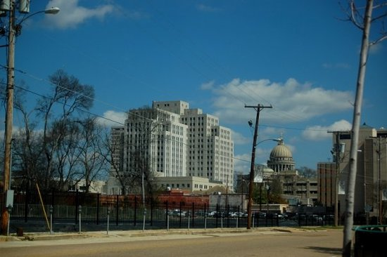 Jackson, MS: downtown from farish