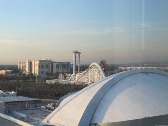Hilton Anaheim: View from room 12-409