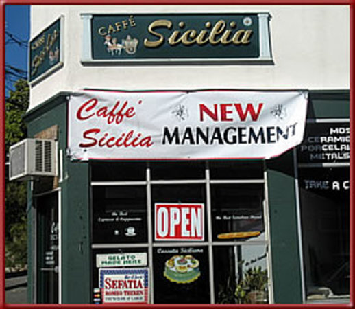 Caffe Sicilia: new owner