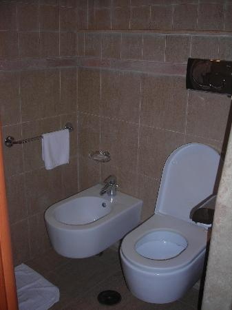 Sunset Roma Guest House & Suite: Bathroom is much larger than this, but hard to get a photo of it all!