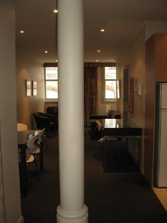 Punthill Flinders Lane Apartments: From the entrance