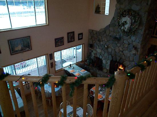 Heron, MT: Dining area