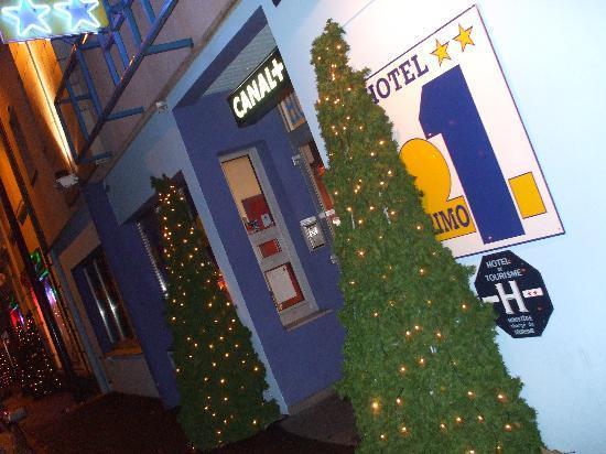 Brit Hotel primo Colmar Centre : entrée