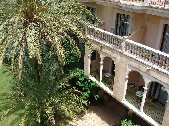 Lago Garden Hotel: Aussicht vom Zimmer