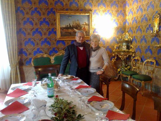 Torriani Palace: Pranzo Camera Oro