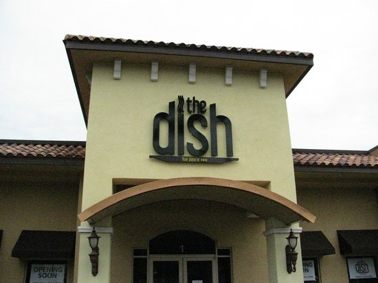The Dish is located in the Tuscany Shoppes Center