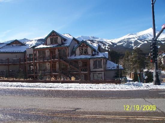 The Corral at Breckenridge: street side