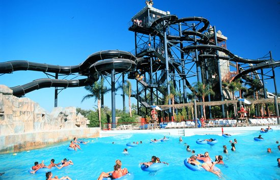 Santa Clarita, Californien: Six Flags Hurricane Harbor