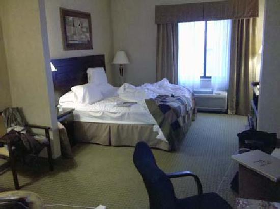 Comfort Inn & Suites: Nice rooms