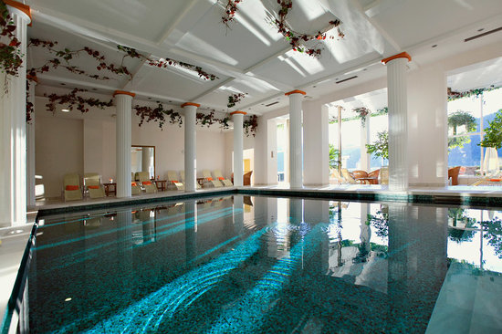 Grand Hotel Toplice: Thermal pool