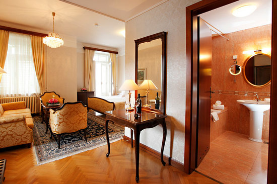 Grand Hotel Toplice: A junior suite