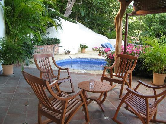 Pelican Eyes Resort & Spa: another view of one of our private patios